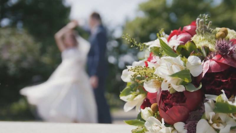 The wedding boom is now in effect now that covid cases are dropping and more people are getting...
