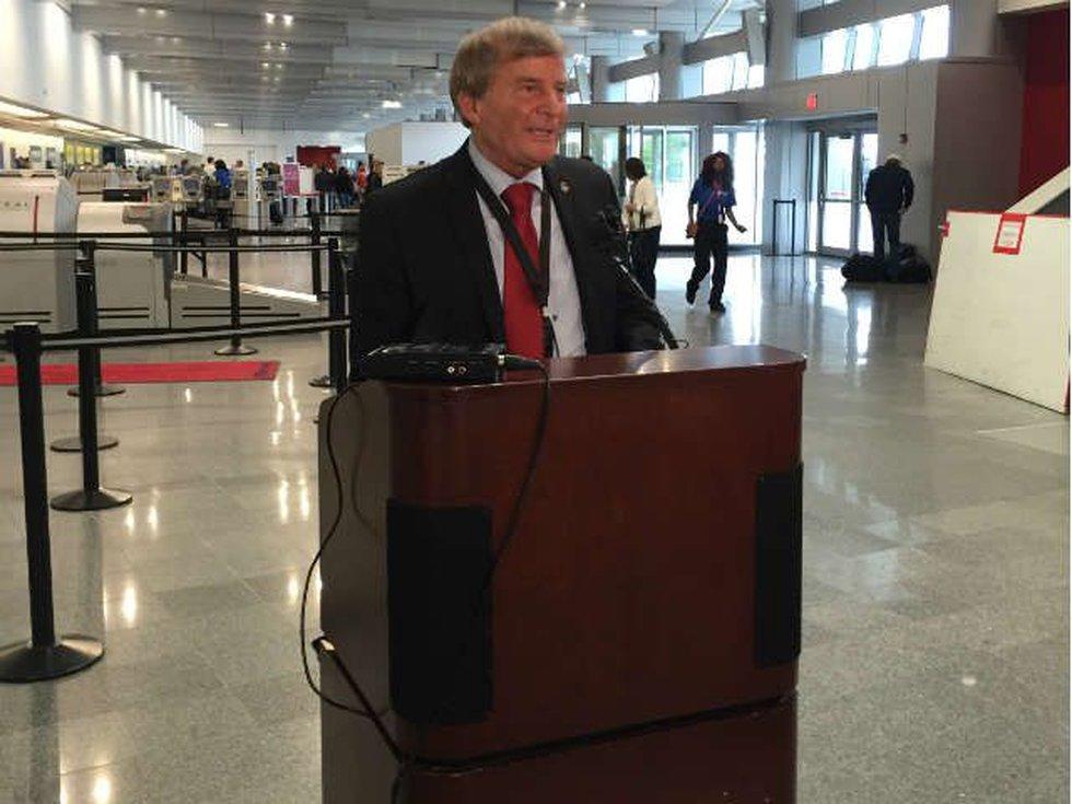 Fred Szabo, Interim Dir. Hopkins Airport. (Source: WOIO)