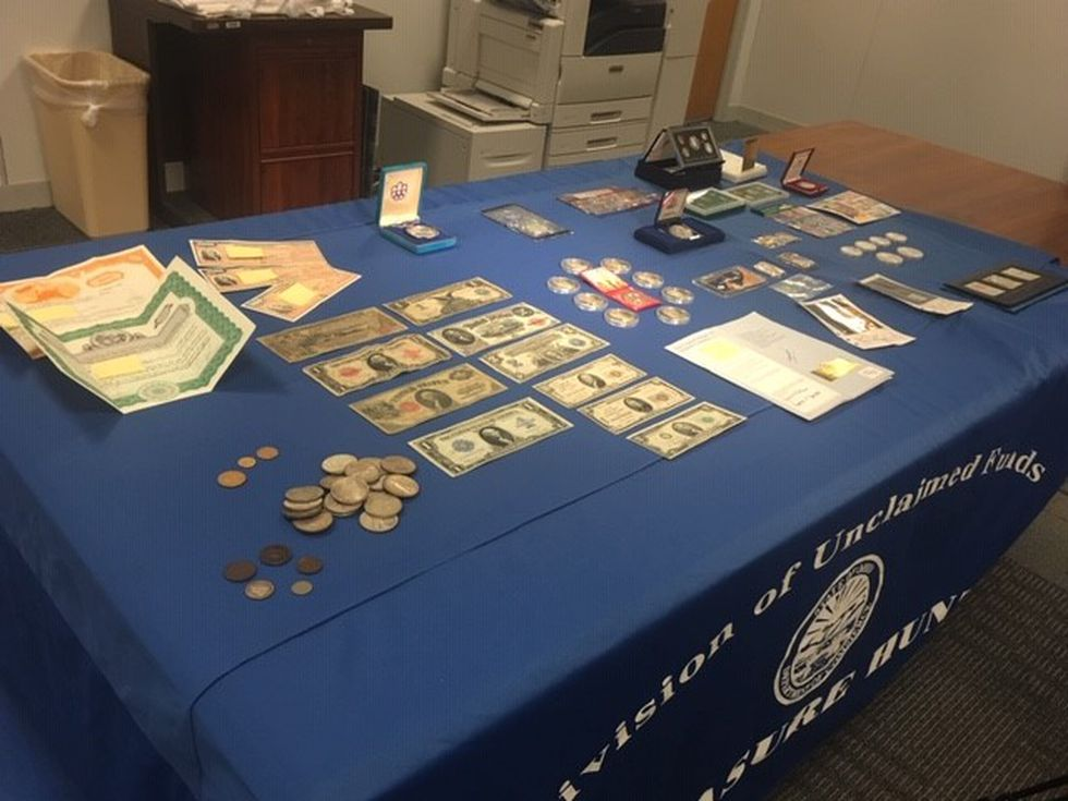 Unclaimed property held by the Ohio Division of Unclaimed Funds.