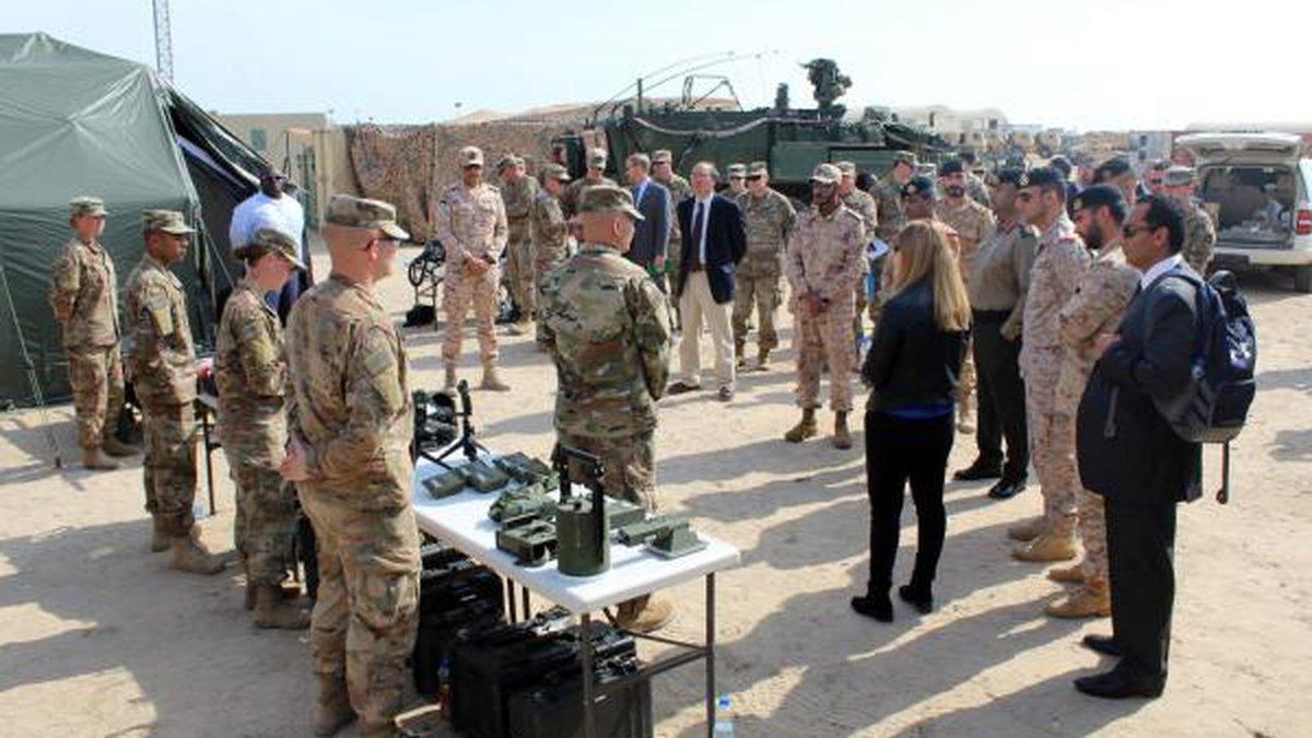 Operation Spartan Shield training in Kuwait