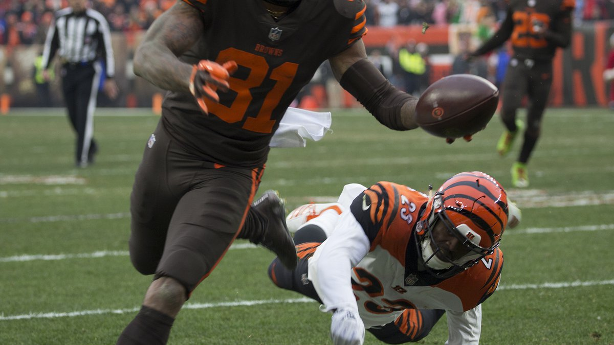 The Cleveland Browns built a big lead and thanks in part to boisterous crowd in their home...