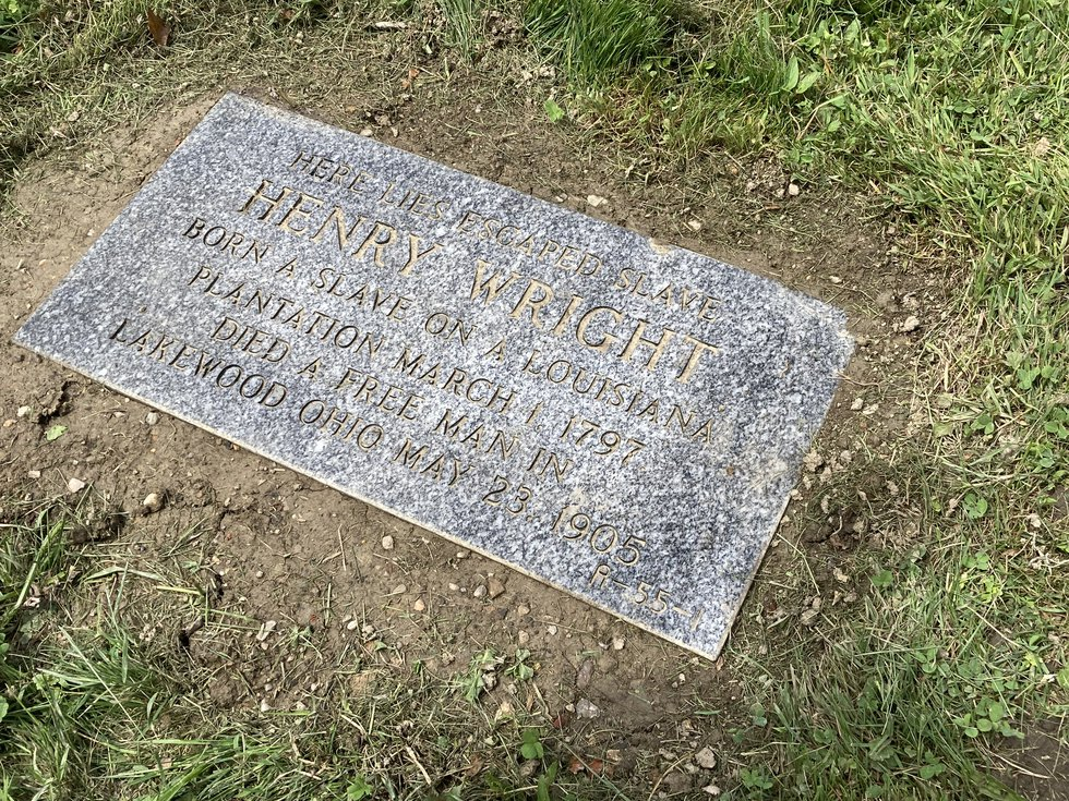 West Park Historical Society honors enslaved Black man, Henry Wright, with grave marker on...