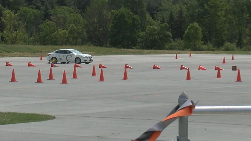 New teen driving skills pad in medina