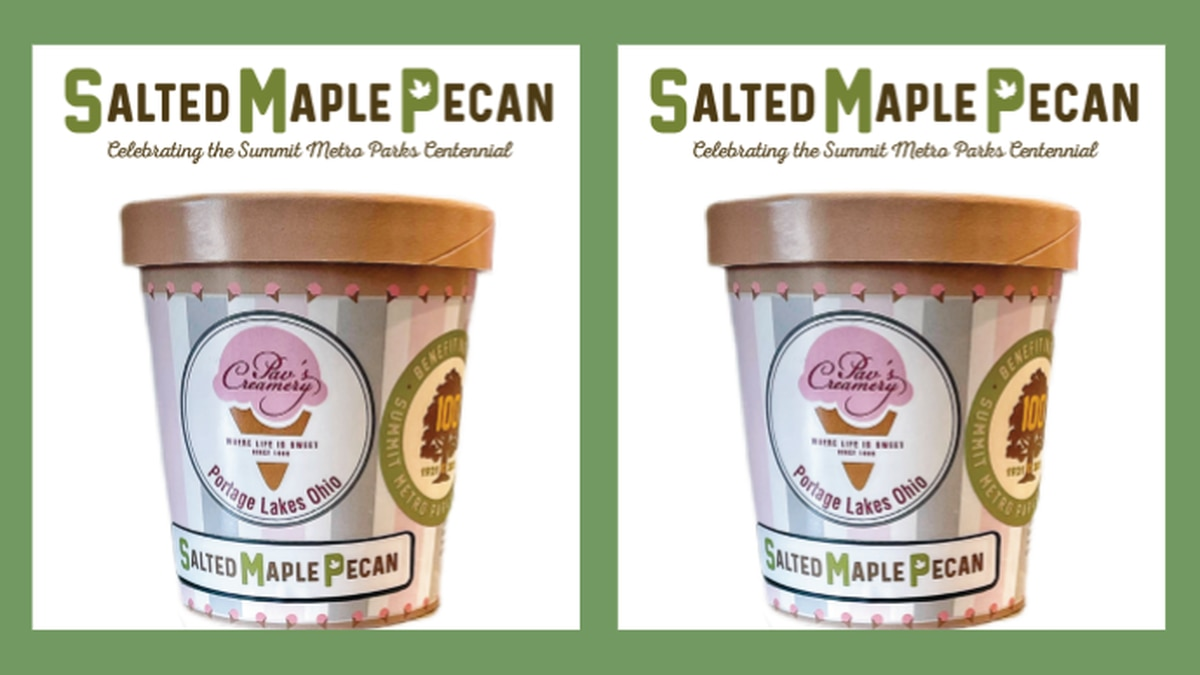 Summit Metro Parks release ice cream flavor in honor of 100th anniversary