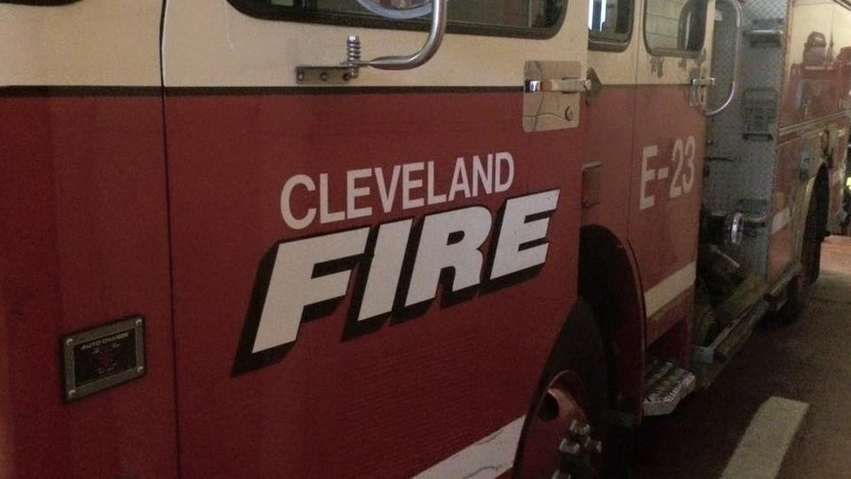 Cleveland Fire Department. Stock Photo.