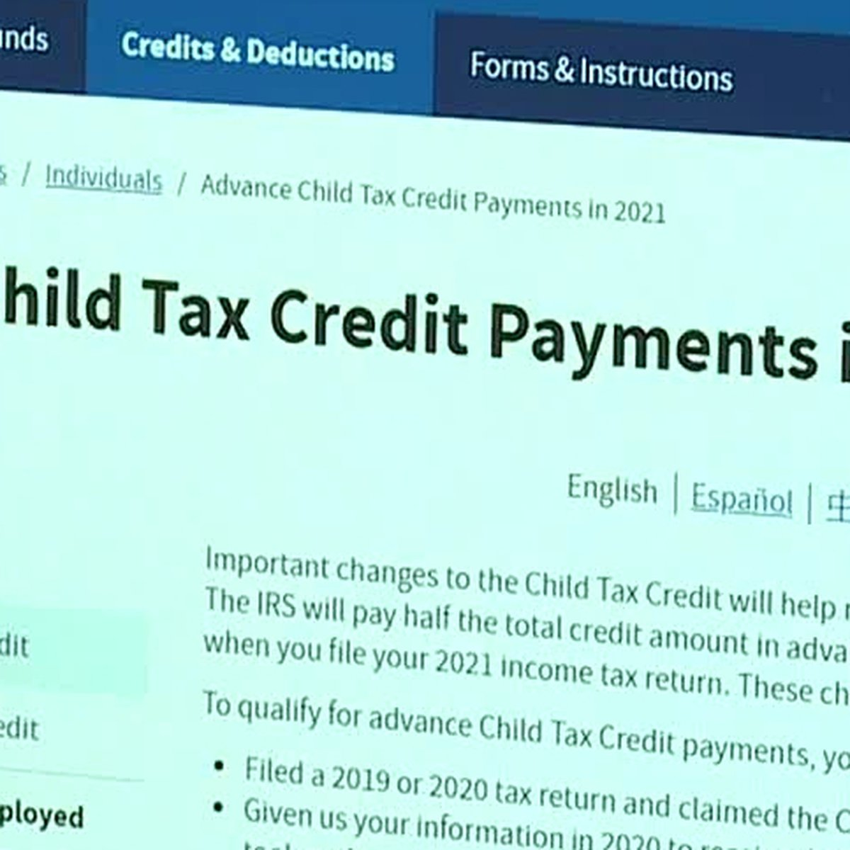 Stimulus Update Child Tax Credit Payments To Start Hitting Bank Accounts Thursday