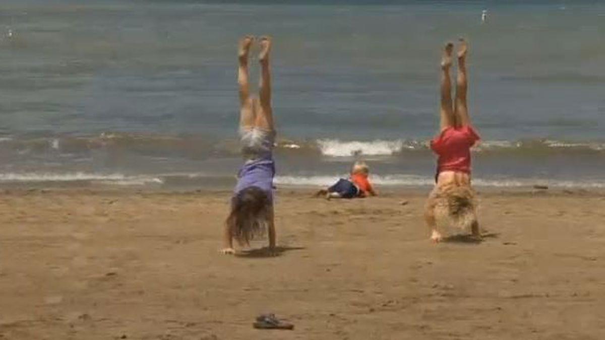 Edgewater beach is deemed safe after advisory (Source: WOIO)