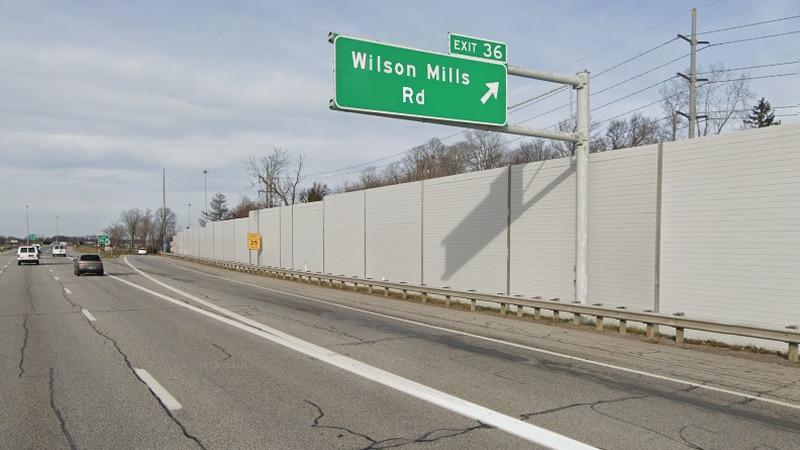 I-271 in Mayfield Village
