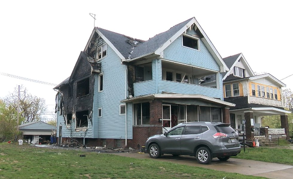Sifa Nsimire and her 7 children displaced after fire destroys their home in Cleveland. The...