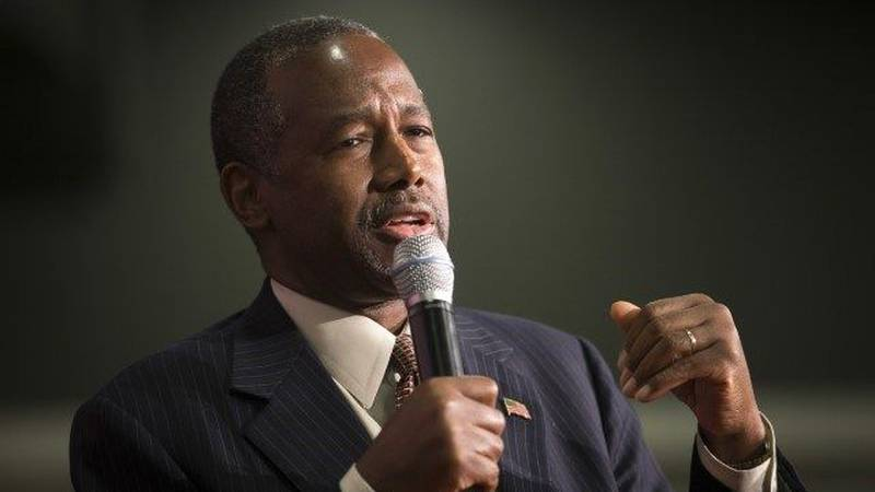 Republican Presidential candidate Dr. Ben Carson. (Source: AP Graphics)