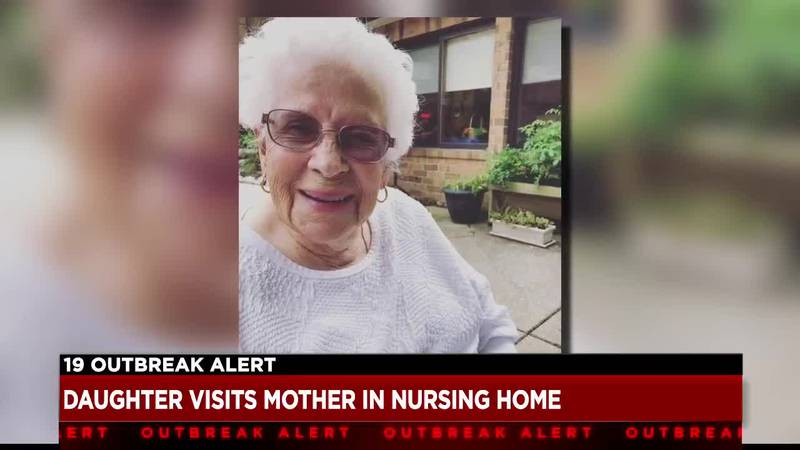 Families working with local nursing home for end of life visitation