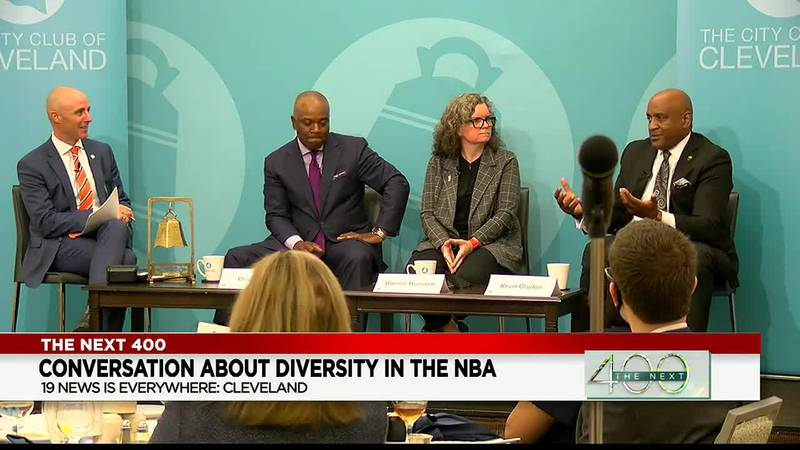 The Next 400: Conversation of diversity in the NBA