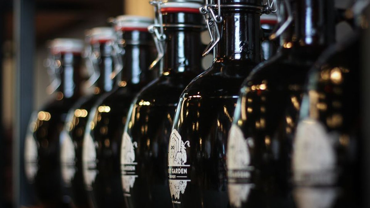 Market Garden Brewery is among the many local vendors now offering alcohol to go during social...