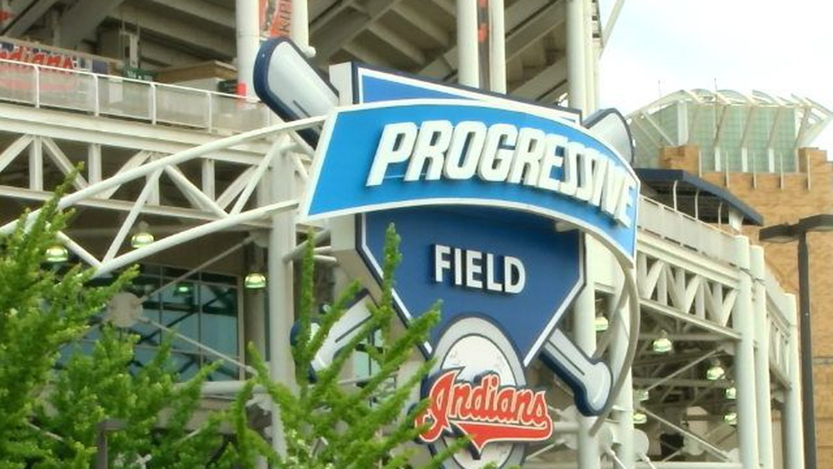 Cleveland Indians game delayed due to rain (Source: WOIO)
