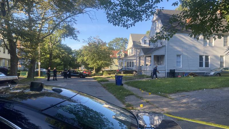 Cleveland police are investigating a shooting in the Hough neighborhood that happened on Labor...